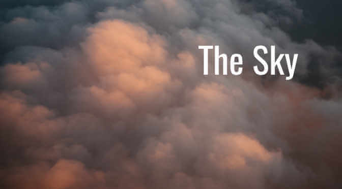 The Sky Title Page